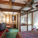 Large bedroom at Sequim West Inn